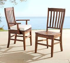 Patio Dining Furniture Benchwright Outdoor Dining Chair Pottery Barn