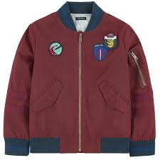 siege social ikks bomber jacket with patches ikks for boys melijoe com