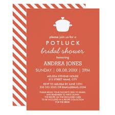 potluck invitations announcements zazzle