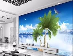peinture murale chambre peinture murale personnalisée photo 3d papier peint clair eau de