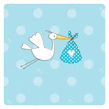 stork baby shower baby shower invitation card royalty free cliparts vectors and