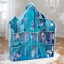 kidkraft disney frozen snowflake mansion dollhouse 19 pieces of