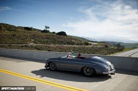 old porsche speedster real replica who cares the outlaw speedster speedhunters