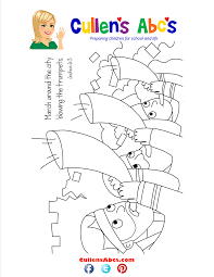 bible memory verse coloring page the battle of jericho