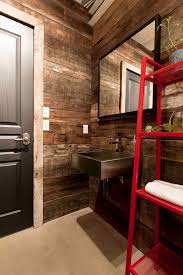 Barn Board Bathroom Reclaimed Wood Wall Bedroom Contemporary With Custom Bench Barn
