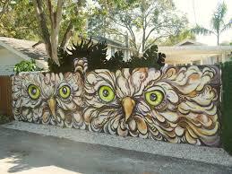 art taco street art laura spencer u0027s owl mural