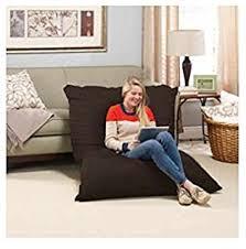 Huge Pillow Bed Amazon Com Novaform Pillow Lounger Oversized Pillow Provides