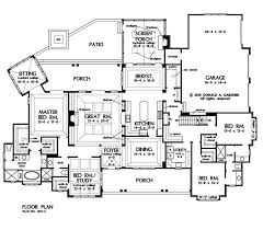 house plan builder home plan the meadow creek by donald a gardner architects