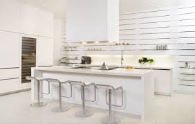 Small White Kitchen Ideas by Lovely White Kitchen Design With Natural Design And Floor 3925