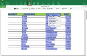 pdf table to excel the easiest way to export pdf table to excel
