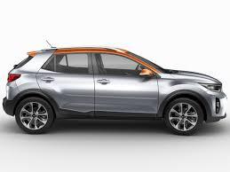 kia stonic 2018 3d model cgtrader