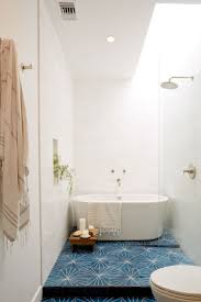 Flooring For Bathrooms by Bathroom Vertical Bathtub Porcelain With Wall Mounted Shower Head