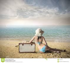 at the ready to go away stock photo image 46375031