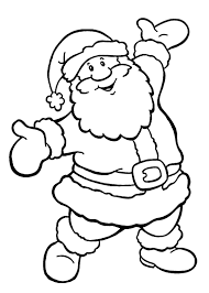 christmas santa claus drawings kids ne wall