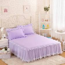 Girls Bed Skirt by White Bed Skirt Promotion Shop For Promotional White Bed Skirt On