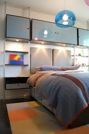 Bedroom Wall Storage Units Bedroom Bedroom Furniture Two Tone Cube Wall Shelves Over Low