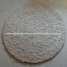 Jute Bath Mat China Handmade Fiber Coir Coconut Straw Jute