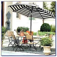 Striped Patio Umbrella Black And White Striped Patio Umbrella Outdoor Umbrella In Black