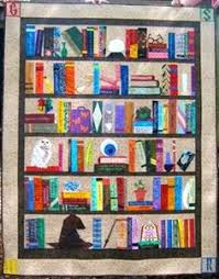 Bookshelf Quilt Pattern What Is This I Can U0027t Even Harry Potter Bookcase Quilt With