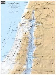 New Testament Map Timeline 10bc 110 Ad New Testament