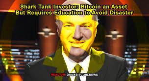 Shark Tank Meme - shark tank investor bitcoin an asset but requires education to