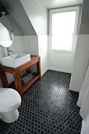 bathroom tile ideas floor 39 stylish hexagon tiles ideas for bathrooms digsdigs