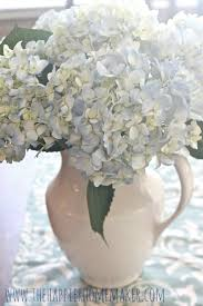 White Hydrangea Bouquet How To Keep Cut Hydrangeas From Wilting Simple Florist U0027s Trick