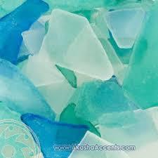 sea glass home decor akasha accents home decor accents blue sea glass mix akasha