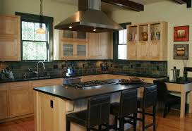 Maple Cabinet Kitchen Natural Maple Kitchen Cabinets Dark Counter Kitchen Backsplash