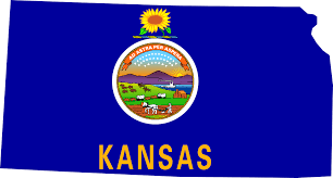 Kansas State Map by Social Media Records In Kansas Archivesocial