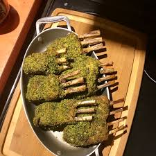gordon ramsay s herb crusted rack of recipe by xoxochef key