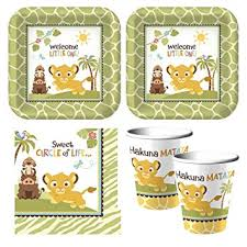 lion king baby shower supplies baby lion king sweet circle of baby shower