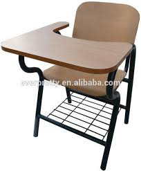 new design student chair with writing pad chairs with tables
