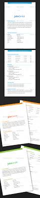 pages resume template 2 2 page resume template by arvzone graphicriver