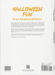 halloween fun dover holiday coloring book fran newman d u0027amico