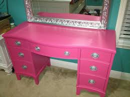 thrift store diy home decor refurbished thrift store desk turned vanity diy pinterest