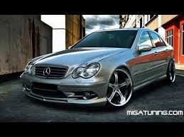 mercedes c class coupe tuning mercedes c class w203 tuning kit