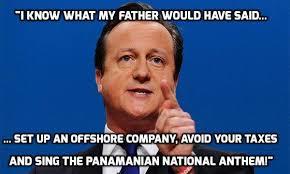 David Cameron Memes - panama memes