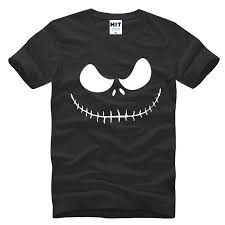 2017 new mens nightmare before t shirts skellington