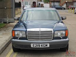 low miles 1 driver mercedes 560sel w126 classic s class