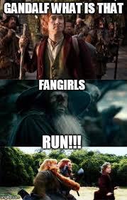 The Hobbit Meme - fangirls imgflip