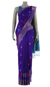 arong saree purple mirpur katan saree