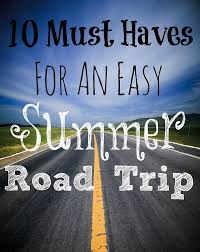 10 Must Haves For A by Trip Tips 10 Must Haves For Easy Summer Car Travel