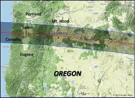 Map Of Central Oregon by 2017 Total Solar Eclipse Eclipse At Madras