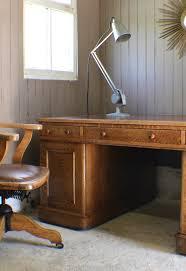 vintage oak u0026 1930s adjustable desk office chair antiques atlas