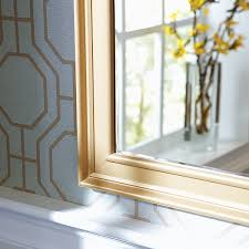 Frame Your Bathroom Mirror How To Make A Diy Mirror Frame With Moulding