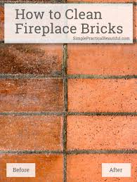 creative cleaning soot off fireplace brick inspirational home
