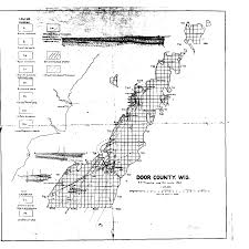 Map Of Door County Wisconsin by Wisconsin Geological U0026 Natural History Survey Bedrock Geology Of