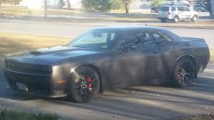 Dodge Challenger All Black - maximum steel challenger srt hellcat forum