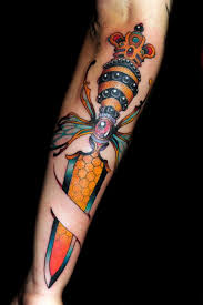 understanding the meanings the dagger tattoos win